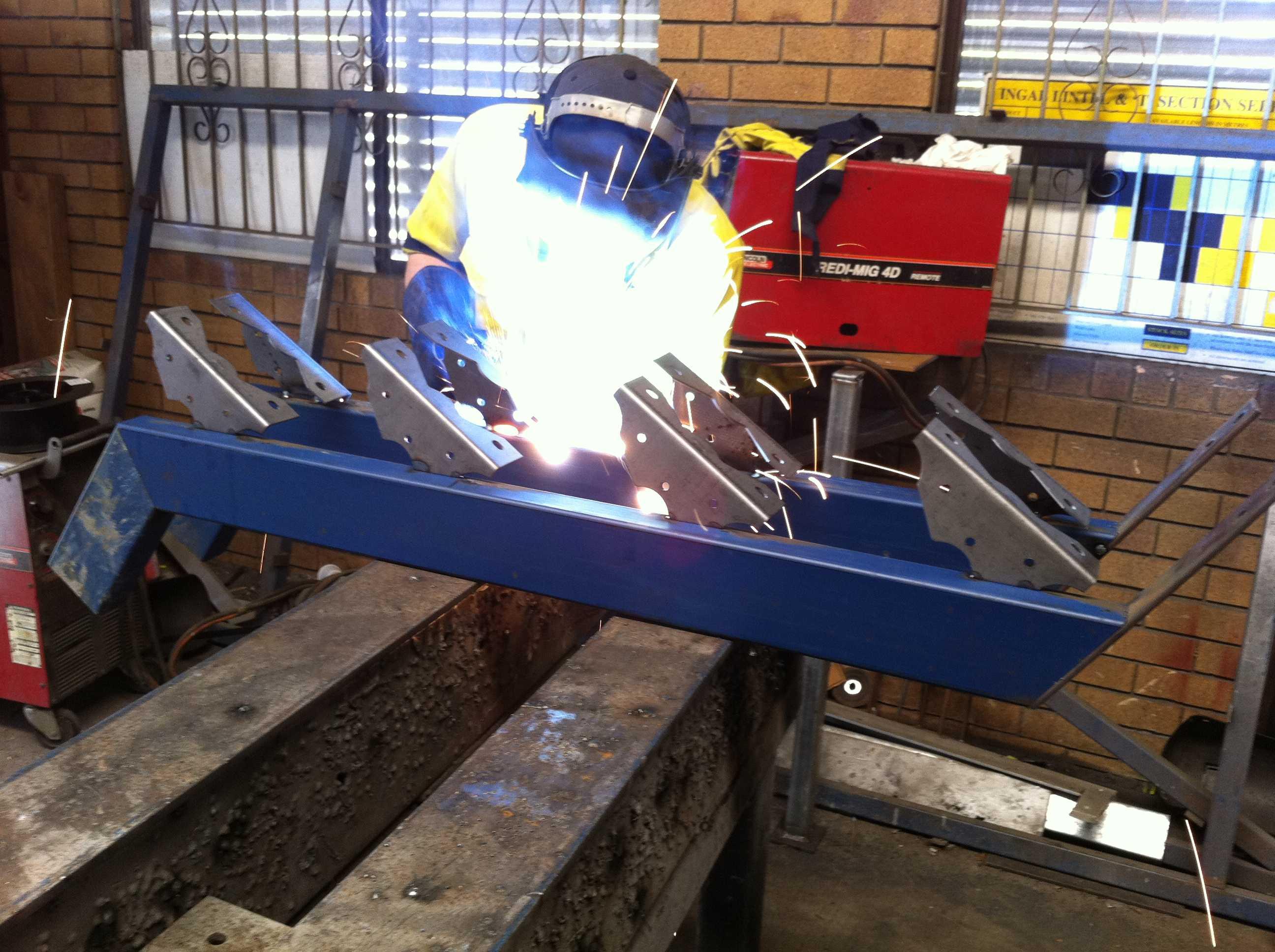 Steel Stair Stringers Brisbane - Network Steel